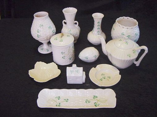 belleek dating piece